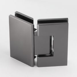 ES2135GM FORGE Shower Hinge Glass to Glass 135 Degree Gunmetal
