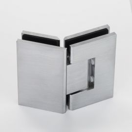 ES2135S FORGE Shower Hinge Glass to Glass 135 Degree Satin