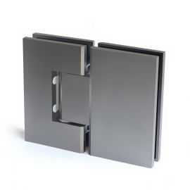 ES2GM FORGE Shower Hinge Glass to Glass 180 Degree Gunmetal