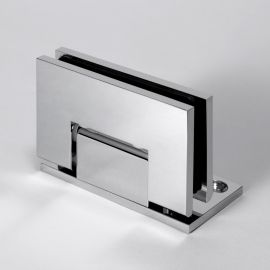 CMES1LC FORGE Shower Hinge Micro Glass To Wall L-Shape 90 Degree Chrome