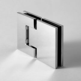 CMES2C FORGE Shower Hinge Micro Glass to Glass 180 Degree Chrome