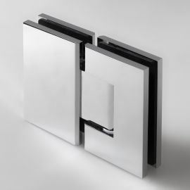 FORGE Shower Hinge Glass to Glass 180 Degree Chrome