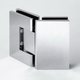 FORGE Shower Hinge Glass to Glass 135 Degree Chrome