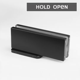 HPCHOB Forge Hydraulic Patch Closer Hold Open Black