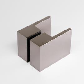 SK50PN Square Shower Knob Handle Polished Nickel