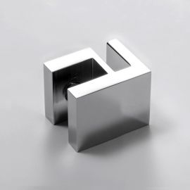 Overpanel Fitting Square 10mm/6mm Chrome