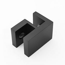 OPF2SQB Overpanel Fitting Square 10mm/10mm Black