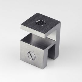 OPF2SQBGM Overpanel Fitting Square 10mm/10mm Brushed Gunmetal
