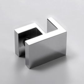 Overpanel Fitting Square 10mm/10mm Chrome