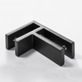 Rigidity Clamp 90 Degree 75 x 50 Black