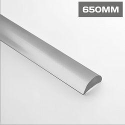 HR2650 Half Round Water Seal Bar 650mm Acrylic