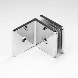 MSB50C Micro Bracket Glass to Wall Mechanical Fixing 90 Degree Chrome