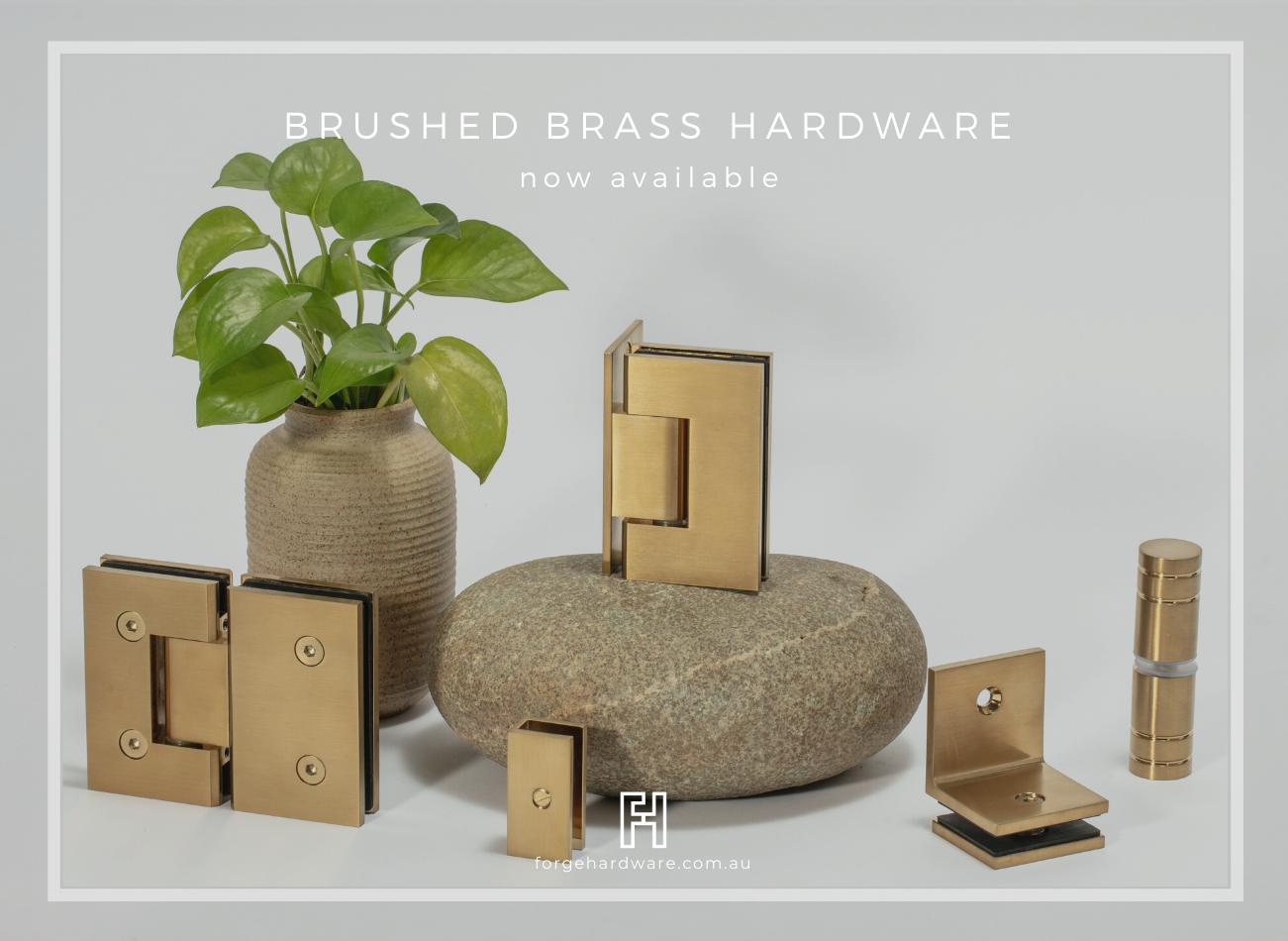 Brushed Brass Hardware Now Available!