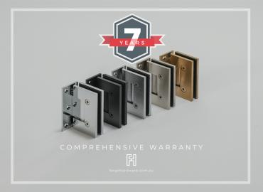 Forge Shower Hardware Warranty