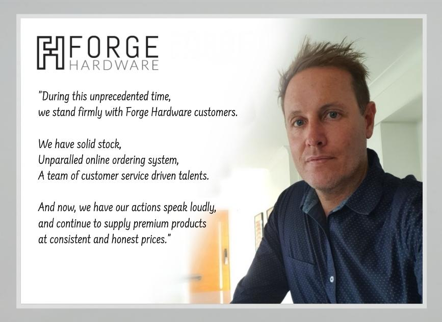 Forge Hardware Queensland New General Manager - Daniel Collett